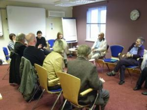 Sharing experiences: The Living With Sight Loss programme in progress